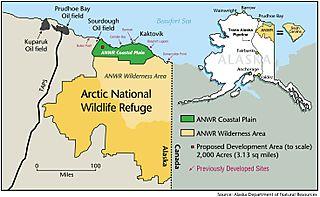 ADNR ANWR map