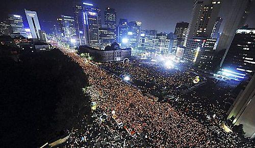Seoul June 10 2008 demonstration