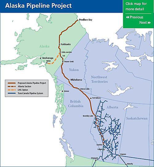 Arctic Economics: Alaska Backs TransCanada\'s Gas Pipeline