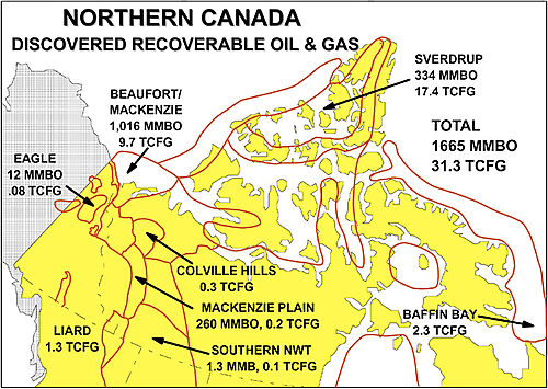 Canada high arctic oil and gas