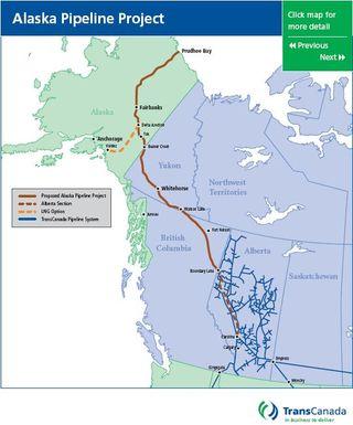 TransCanada map
