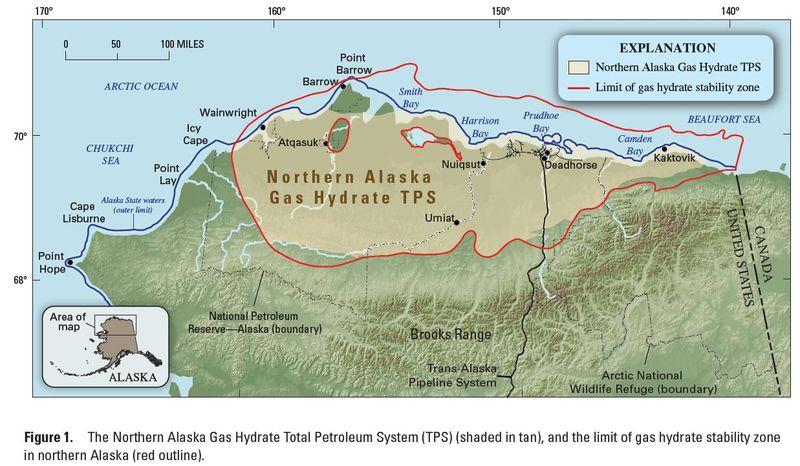 Gas hydrates in Alaska