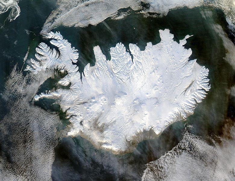 Iceland NASA wiki January