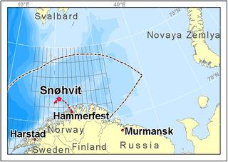 Snohvit map