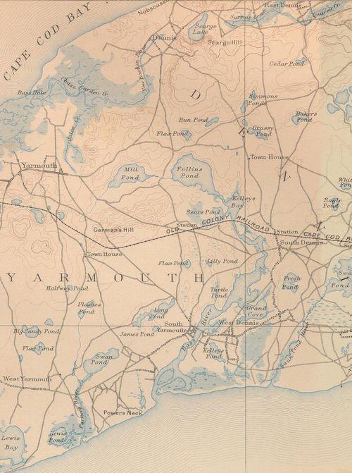 Bass River 1880s