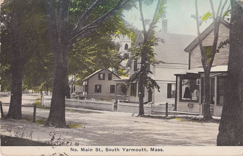 Downtown S. Yarmouth looking south(a)