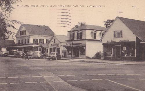 Main and Bridge Sts ~late 40s