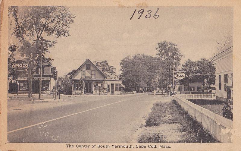 Main and Bridge Sts ~1936